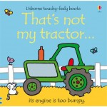 That's Not My Tractor Touchy Feely Book - Usborne - Board Book